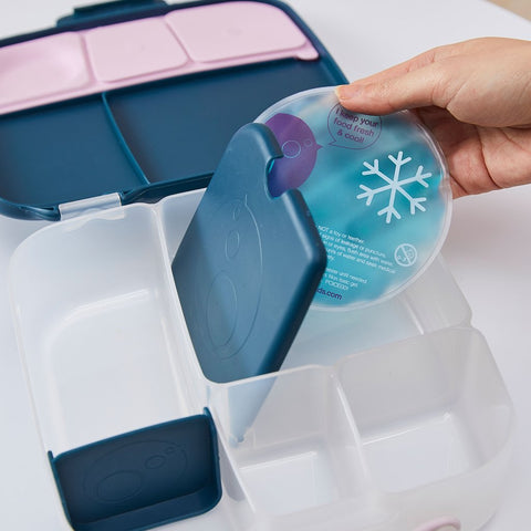 Lunch box gel cooler pack