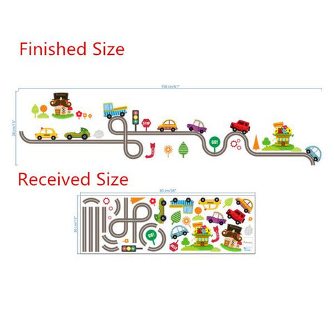 Removable Wall Decal Kids NZ Sizing