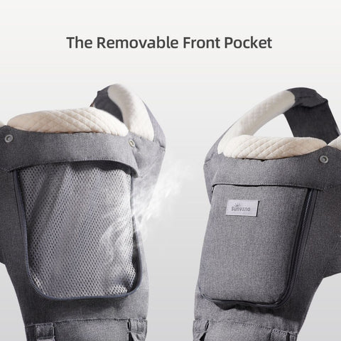 All weather baby carrier