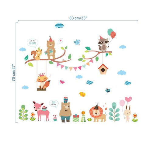 Wall Decals Kids Room Sizing