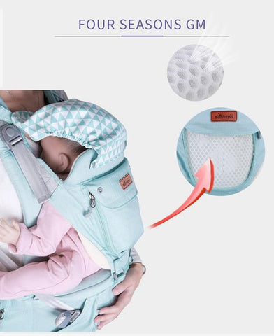 DEj KidS Baby Ergonomic 3-in-1 Carrier