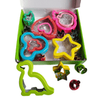 18 Pce Sandwich Cutters / Cookie Cutters