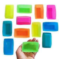 12pc Silicone Mini Loaf Moulds