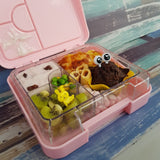 Pink Leakproof Bento Snack Box