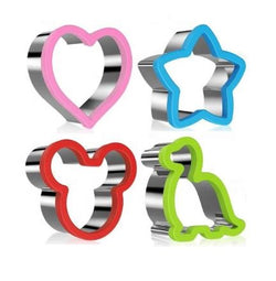 4 Pce Multi Purpose Cutters