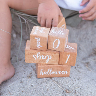 Baby Wooden Milestone Cards
