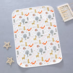 Baby changing mat pattern NZ - DEJ Kids Quilted Animals 3
