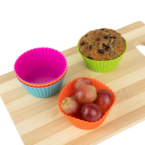 Silicone cupcake Mould Round