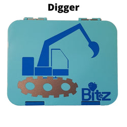 Customised Lunch box Name Sticker Digger