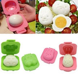 Boiled Egg Moulds & Rice Shapers - 6 pc