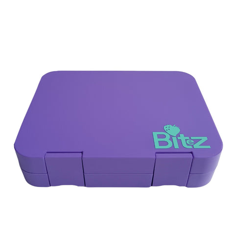 Lunch box New Zealand Purple DEJ Kids Bitez