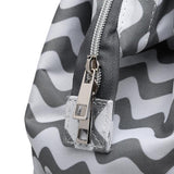 Zigzag Baby Bag + 2 Stroller Hooks-Baby Bag-DEj KidS NZ