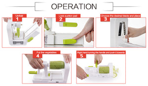 5 Blade Vegetable Spiralizer