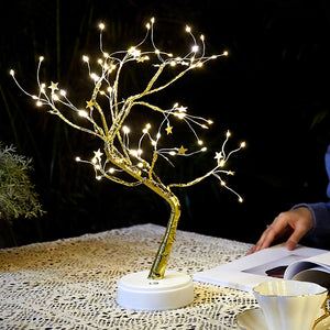 With Light Lucky Money Tree statue fengshui Ornament Fortune Tree Ornament Golden Purse Tree Decoration Desktop Beautiful Crafts