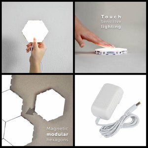 Hexagon Touch  Modular Light