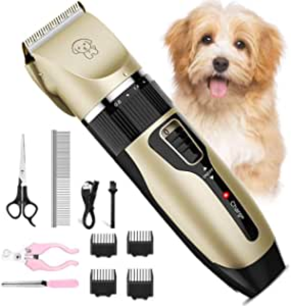 Electric USB Rechargeable Pet Hair Groomer