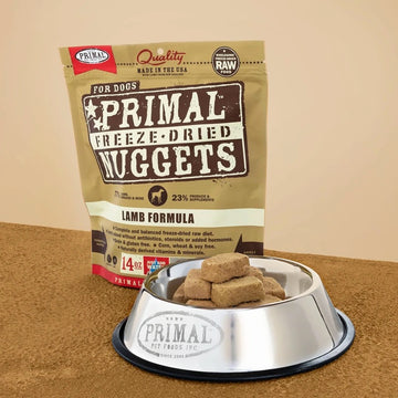 【PRIMAL】 Dog Freeze-Dried Nuggets - Lamb