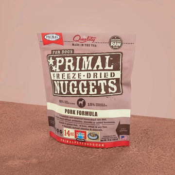 【PRIMAL】 Dog Freeze-Dried Nuggets - Pork
