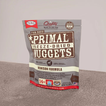 【PRIMAL】 Dog Freeze-Dried Nuggets - Venison