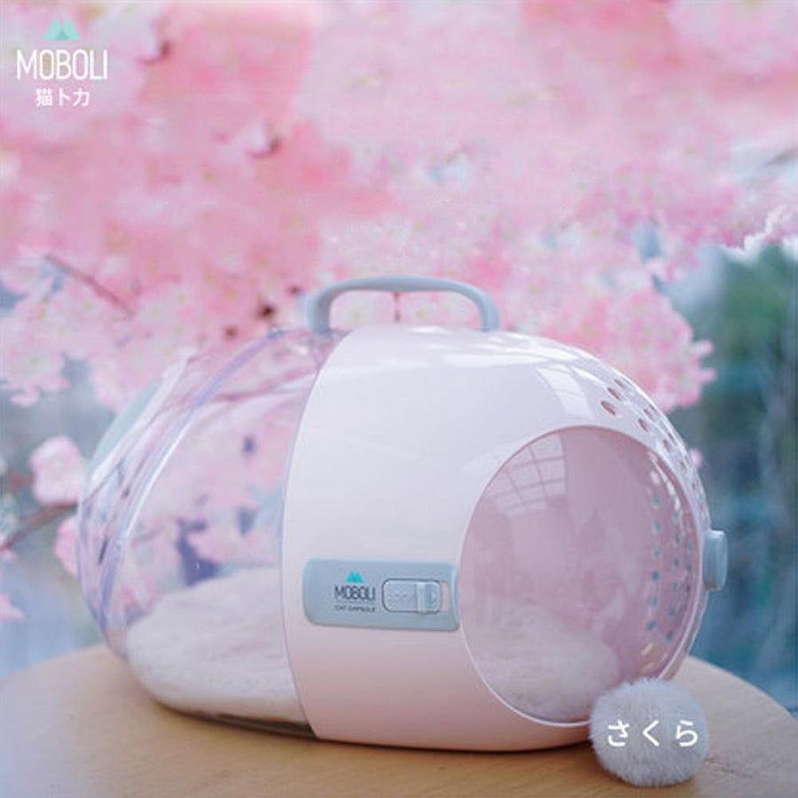MOBOLI Travel Capsule Carrier - Pink-Travel-PawPawDear