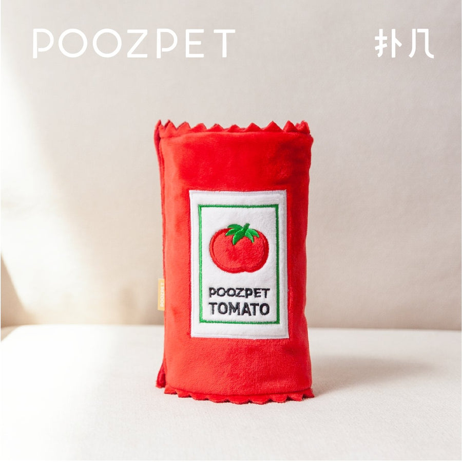 POOZPET Pet Training & Relaxing Toy - Ketchup - Pet Supplies - PawPawDear