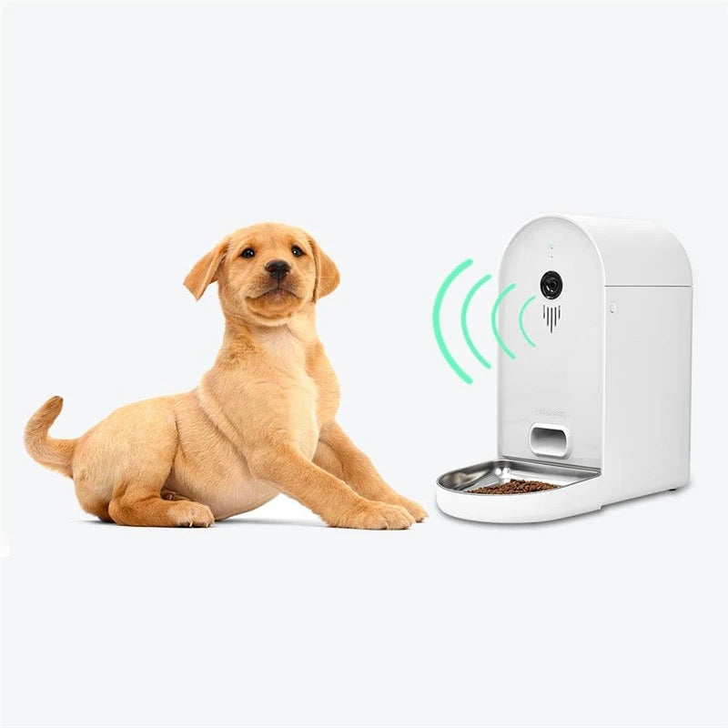 DOGNESS Smart Pet Feeder with Cmera-Feeder-PawPawDear