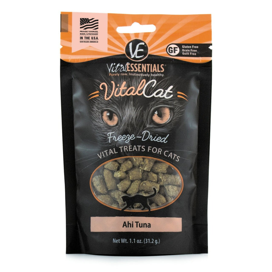 【VITAL ESSENTIALS VE】Cat Freeze-Dried Treats - Ahi Tuna 1.1 oz