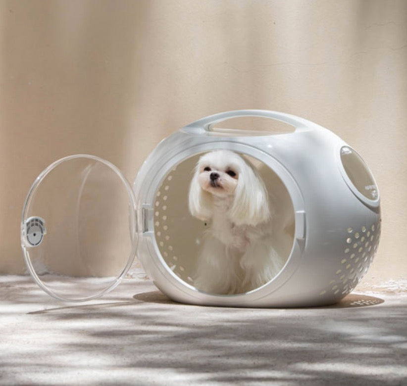 WULEE Space Pet Carrier - White
