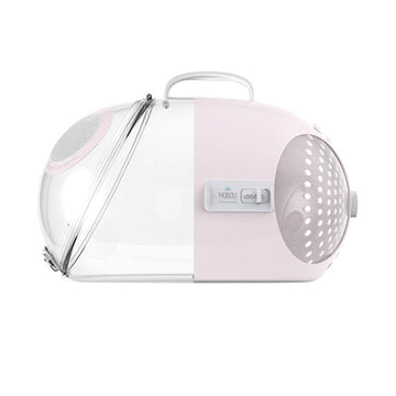 MOBOLI Travel Capsule Carrier - Pink - Pet Supplies - PawPawDear