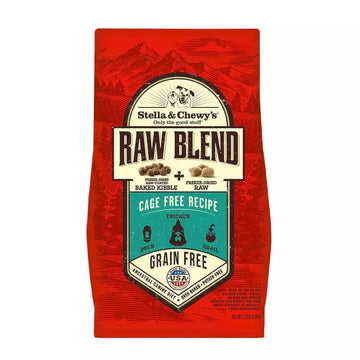 【Stella & Chewy's】Raw Blend Cage Free Recipe Dog Kibble