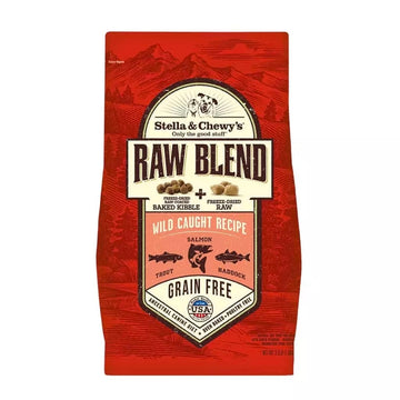 【Stella & Chewy's】Wild Caught Raw Blend Kibble