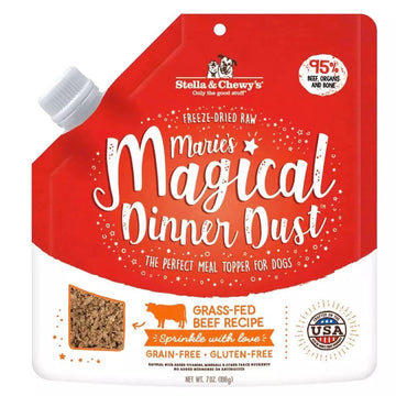 【Stella & Chewy's】Marie's Magical Dog Dinner Dust Cage Beef Topper 7oz