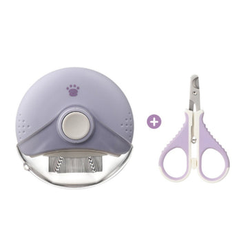 EVERCUTE UFO Comb & Nail Clipper Set - Pet Supplies - PawPawDear