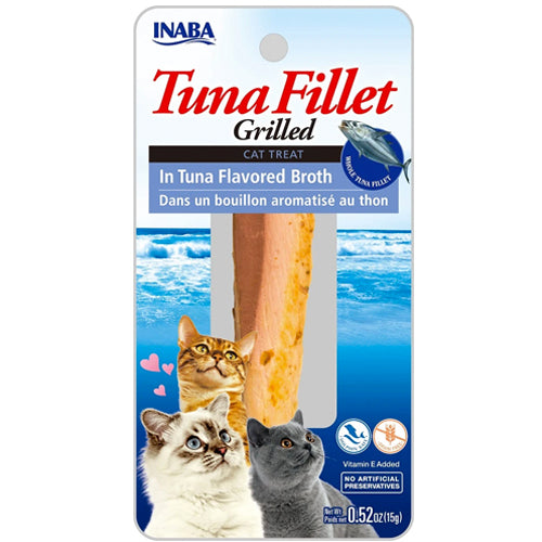 Inaba Grilled Fillets - Tuna in Tuna Flavored Broth-Treats-PawPawDear