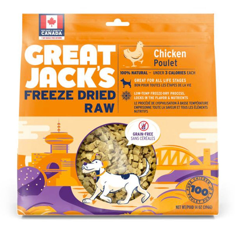 Great Jack's Freeze Dried Raw Dog Treats - Chicken