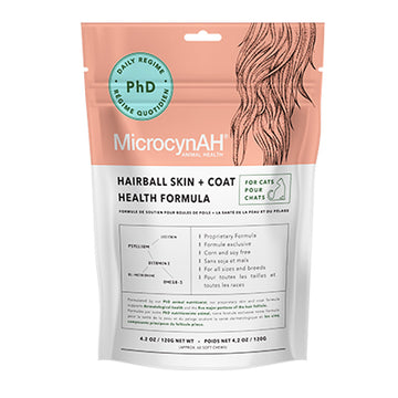 MicrocynAH Hairball Skin & Coat Health Soft Chews for Cats