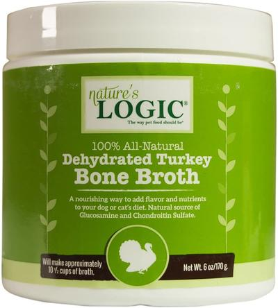 Nature's Logic Dehydrated Turkey Bone Broth 6oz
