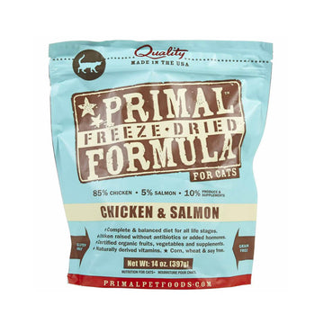 Primal FELINE FREEZE-DRIED NUGGETS - Chicken & Salmon