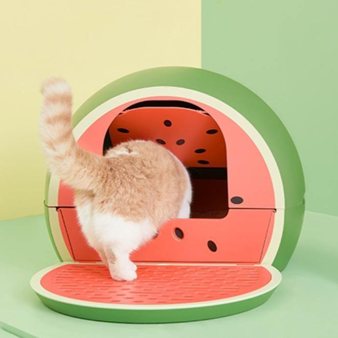 VETRESKA Watermelon Litter Box - Pet Supplies - PawPawDear