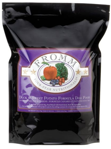 【Fromm】Four-Star Duck & Sweet Potato Dry Dog Food 30 lbs