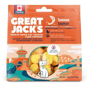 Great Jack's Freeze Dried Cat Treat & Topper - Salmon