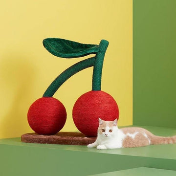 VETRESKA Cherry Cat Tree-Cat Toys-PawPawDear