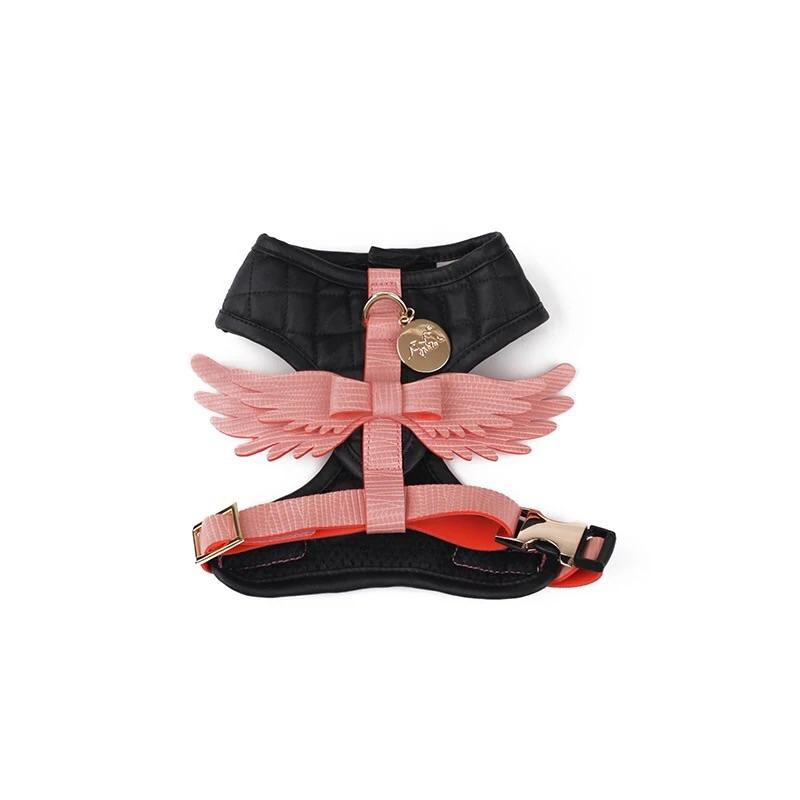 Angel Body Harness with Leash-Travel-PawPawDear