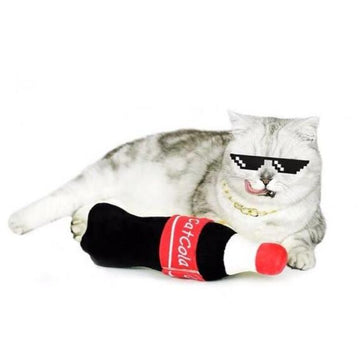 Cat Cola Catnip Cat Toy-Cat Toys-PawPawDear
