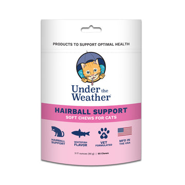 Under the Weather Soft Chews for Cats - Hairball Support-Healthcare-PawPawDear
