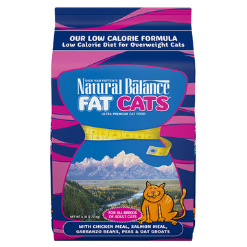Natural Balance Fat Cats Chicken & Salmon Low Calorie 15LB