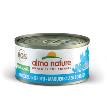 Almo Nature Canned Cat Food - Mackerel (2.5 oz can)