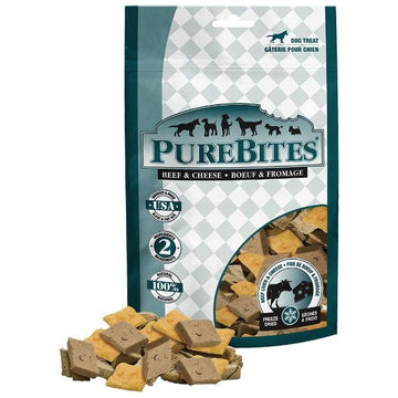 PureBites Dog Treat - Freeze Dried Beef & Cheese 120g