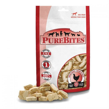 PureBites Dog Treat - Freeze-Dried Chicken Breast 85g
