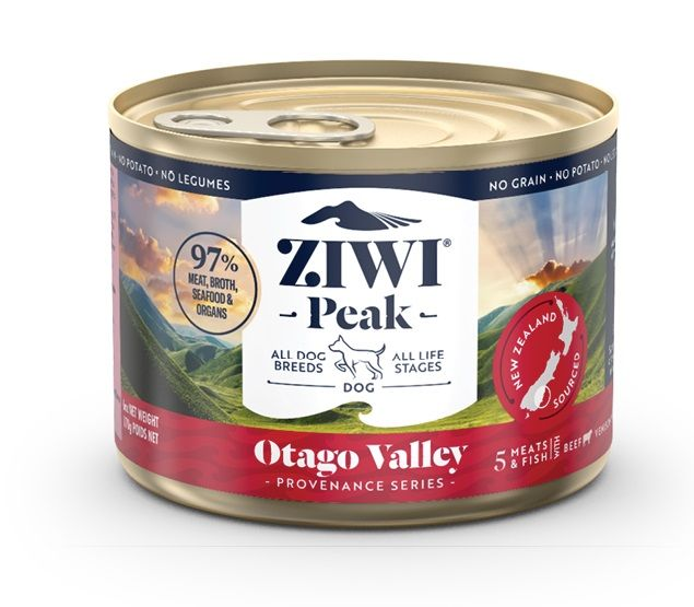 ZIWI® Peak Provenance Series Grain-Free Dog Can 170 g - Otago Valley